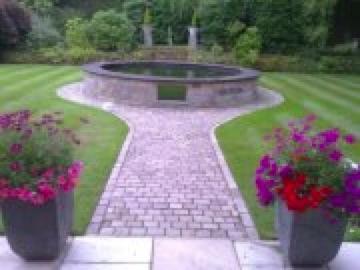 Garden koi fish pond experts in kent england for Garden pond kent